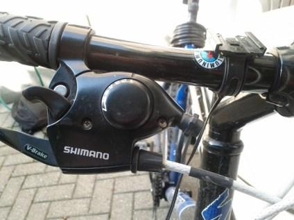 shimano click shift gear brake system