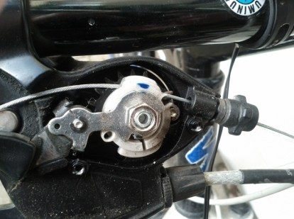 shimano click shift opened with cable