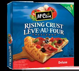 McCain Crescendo Rising Crust Pizza Deluxe