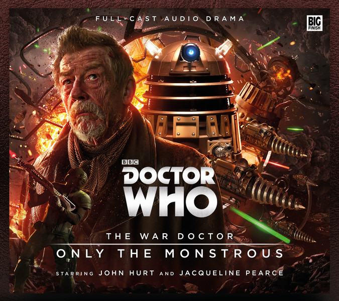 Doctor Who – The War Doctor Vol. 1: Only the Monstrous Cover