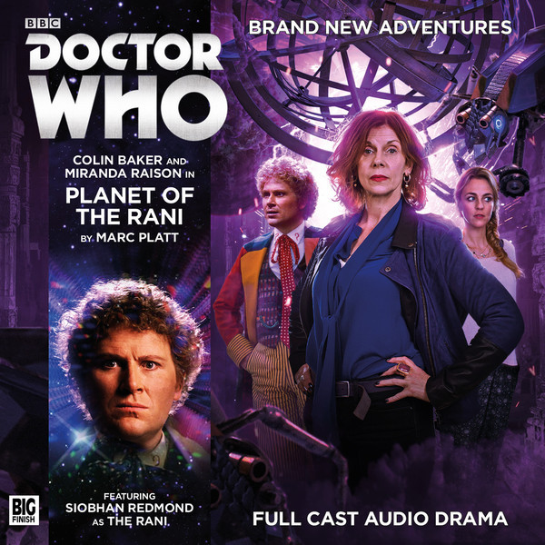 Doctor Who: Planet of the Rani Cover