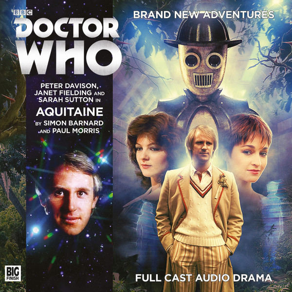 Doctor Who: Aquitaine Cover