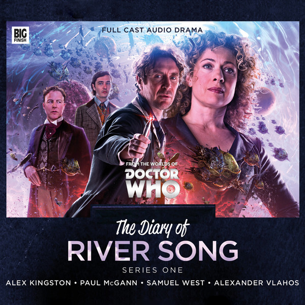 Doctor Who: The Diary of River Song Series One Cover