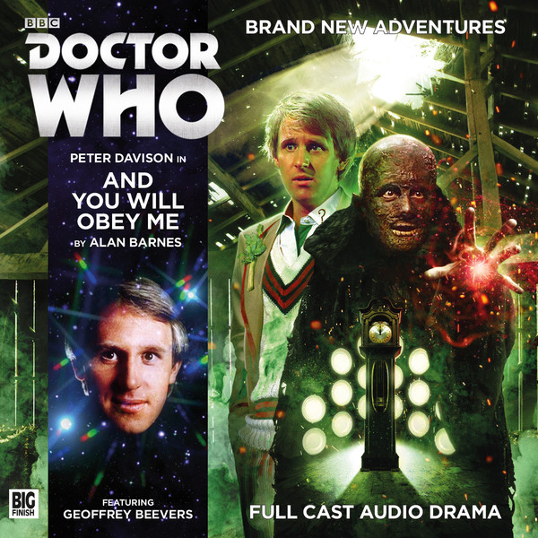Doctor Who: And You Will Obey Me Cover