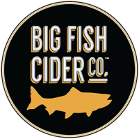 Big Fish Cider - Circular Logo