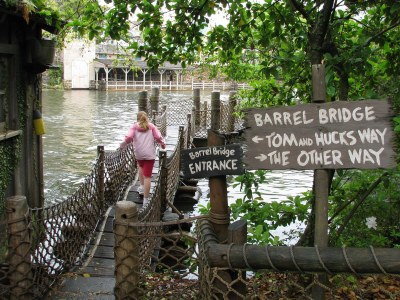 Tom Sawyer Island and Rafts - Walt Disney World - Magic ...