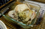 Recipe: Chicken in a cooking bag with long grain & wild rice stuffing