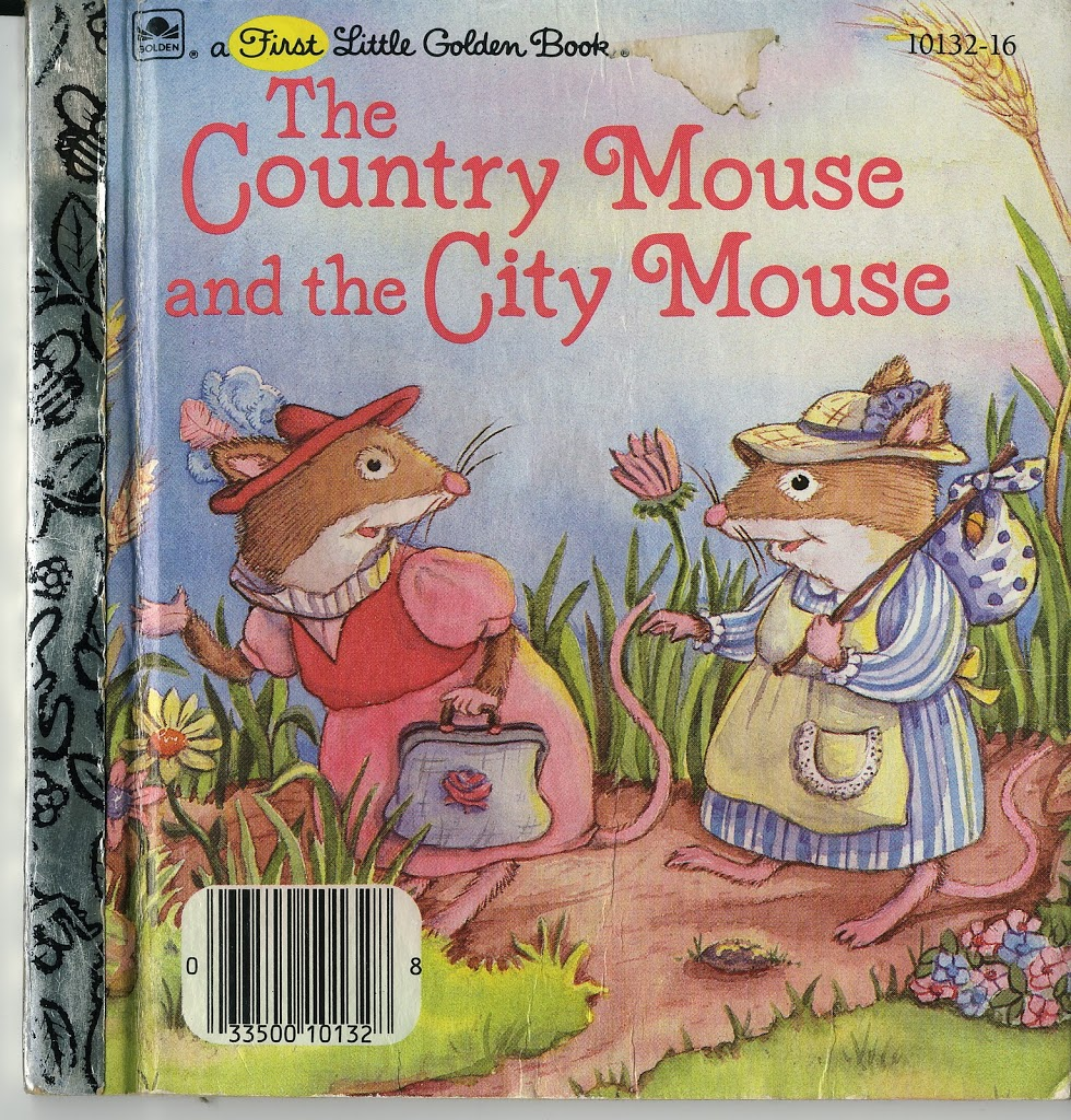 The country mice visit the city