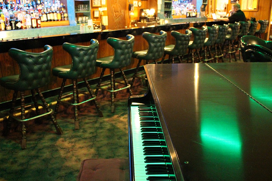 Big Foot Inn piano
