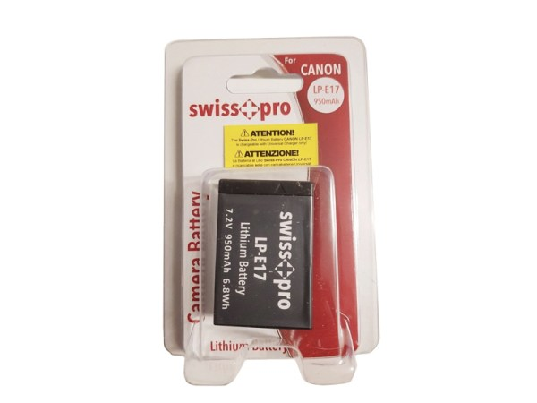 batteria-SwissPro-batt.Canon-LP-E17-bigfototaranto