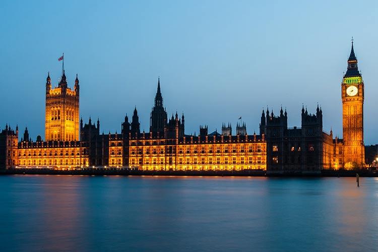 Houses of Parliament - iconic London landmark