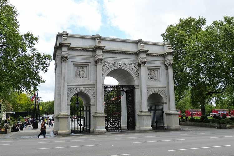 Marble Arch - iconic London landmark