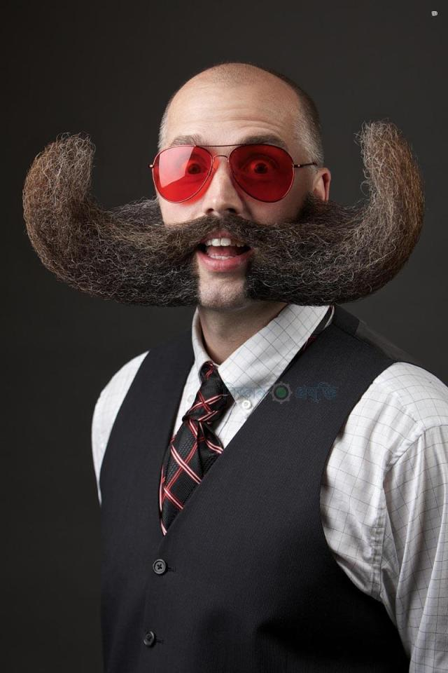 The Just For Men World Beard and Moustache Championships crowned 18 title winners, highlighting the best and boldest examples of facial hair from across the globe on Saturday, October 25th, 2014 in Portland