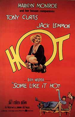 Image result for Some Like It Hot 1959 publicity shots