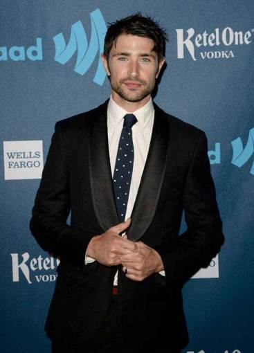 Matt Dallas at the GLAAD Media Awards