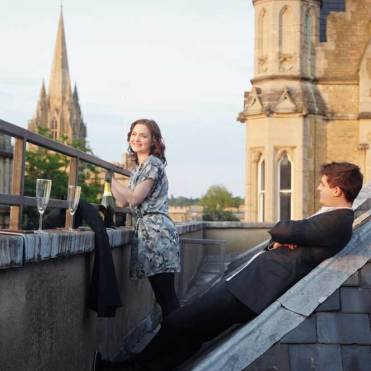 Holliday Grainger and Max Irons in Posh