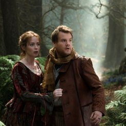 James Corden & Emily Blunt in Into The Woods