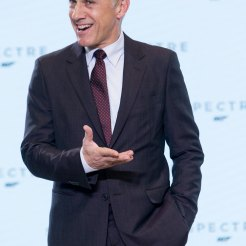 Christoph Waltz at Spectre Launch