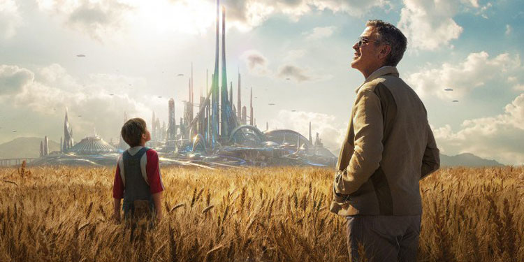 New Tomorrowland: A World Beyond Trailer - George Clooney heads for another  world - Big Gay Picture Show