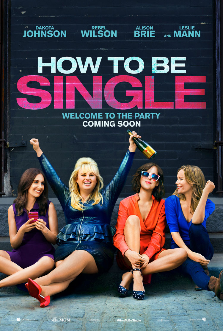 how-to-be-single-poster