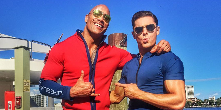 baywatch-dwayne-johnson-zac-efron-set-pic