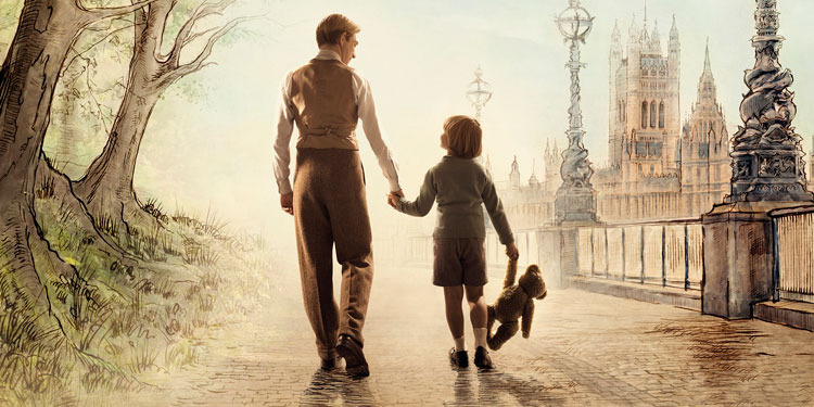 Winnie the Pooh is Born in First Trailer for 'Goodbye Christopher Robin'