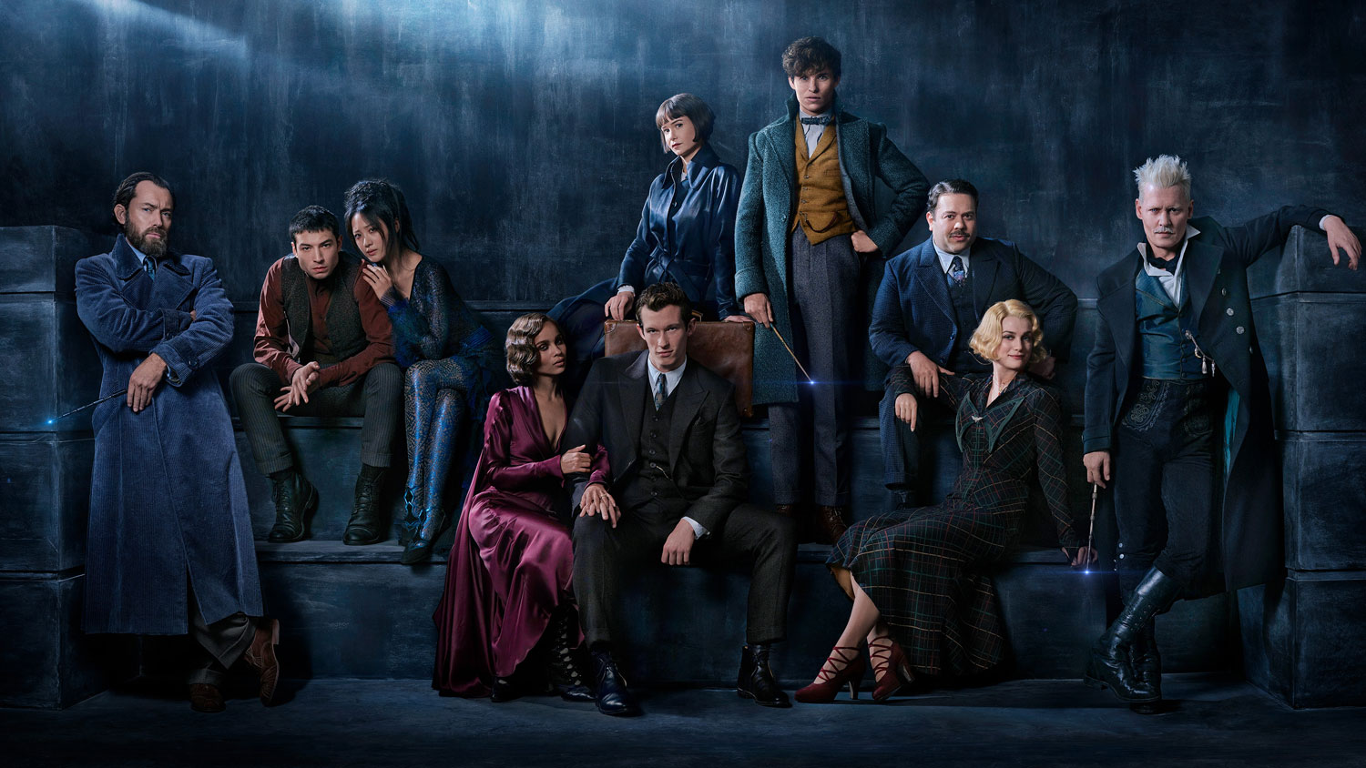 First look at Fantastic Beasts: The Crimes of Grindelwald