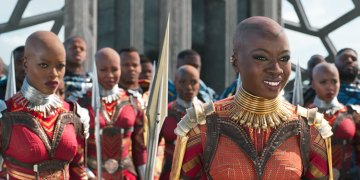 "Black Panther Actress Talks About Why The Rumoured<span class=""pt_splitter pt_splitter-1""> Gay Moments Didn't Make The Final Cut</span>"