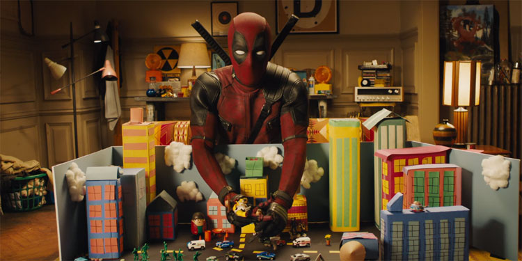Ryan Reynolds Goes FLASHDANCE In New UNTITLED DEADPOOL SEQUEL Poster