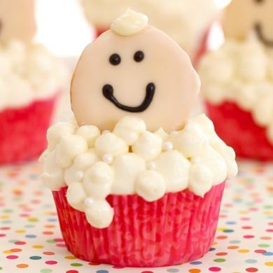 Bubble Baby Cupcakes
