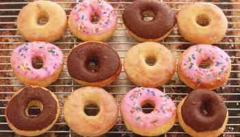 No-Knead Donuts (Baked Not Fried)