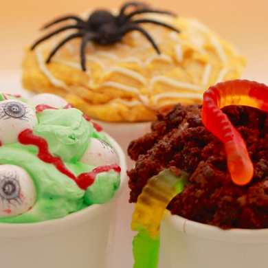 Homemade Halloween Ice Cream Flavors to Die for...