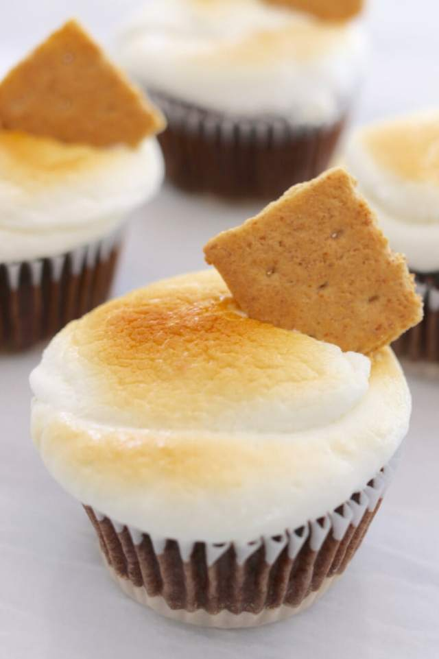 Homemade, Small Batch, Red Velvet, Cookie Dough, S'more, Cupcakes, Toaster Oven, Gemma Stafford, Bigger Bolder Baking, Baking, Baking videos, Recipes, How to make small batch cupcakes