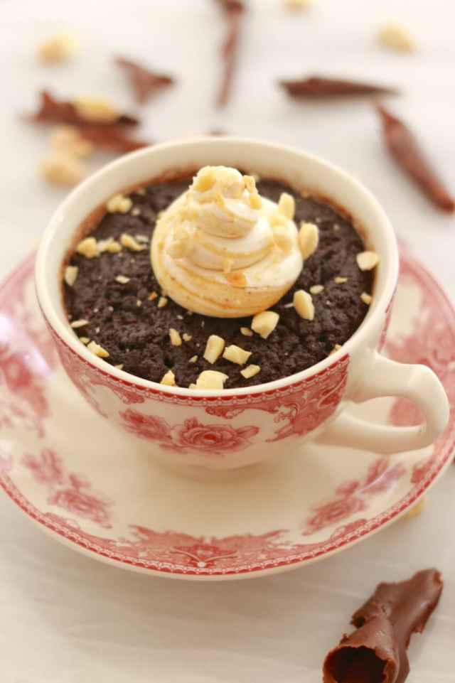 Mug Cakes, Chocolate Mug Cakes, Mug Cake Trio, Chocolate Molten Lava Cake, Molten Lava Cake, Microwave Cakes, Mug Cake, How to make a cake in the microwave, Gemma Stafford, Bigger Bolder Baking, Recipes, Ghirardelli, Chocolate, Chocolate Recipes, Chocolate Lovers