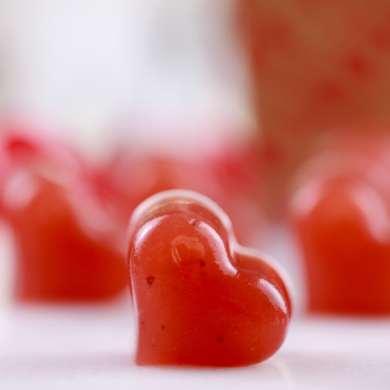 Valentine's Day Real Fruit Strawberry Gummies