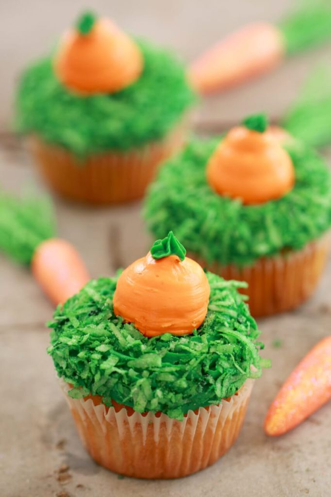 Small Batch Cupcakes For Spring Carrot Cake Vanilla