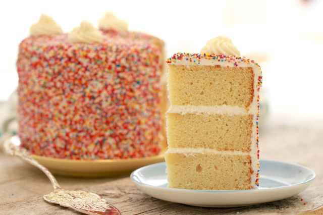 Vanilla Birthday Cake Recipe with Buttercream Frosting (Master Recipe): An incredible cake recipe that you will use for years to come.