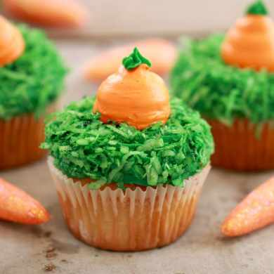 Carrot Cake Cupcakes (Small Batch Cupcakes for Spring)
