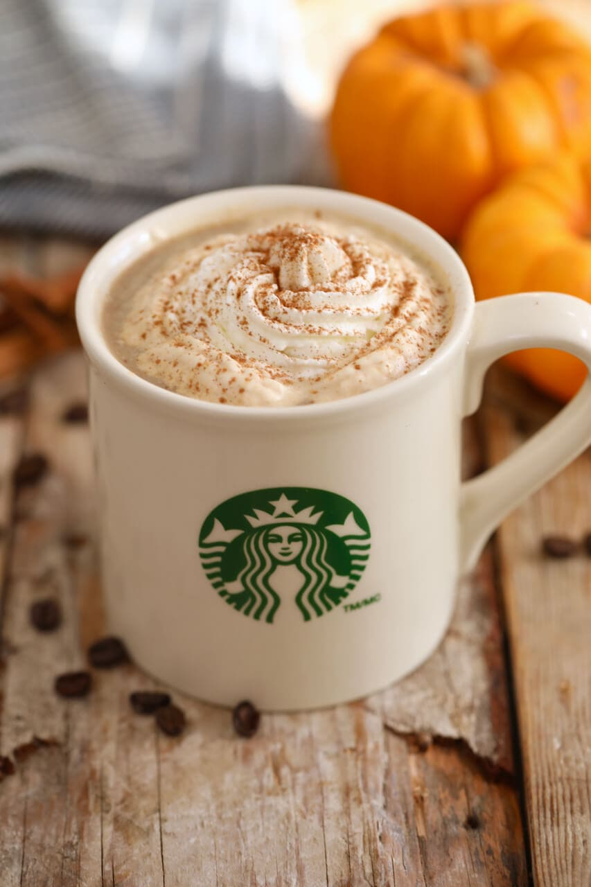 Homemade Starbucks Pumpkin Spice Latte Recipe (with Video)