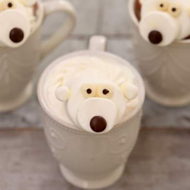 Marshmallow Polar Bears