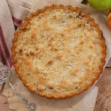 Make-Ahead Apple Pie