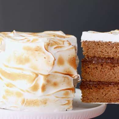 3 Layer S'more Cake