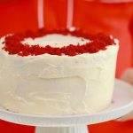 3 Layer Microwave Red Velvet Cake
