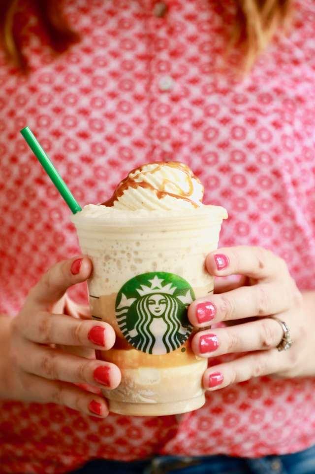 Homemade Starbucks Caramel Frappuccino
