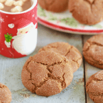 Chewy & Soft Molasses Cookies
