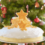 Simple And Beautiful Christmas Cake Decorating