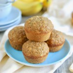 My Mum's Healthy Banana Muffins