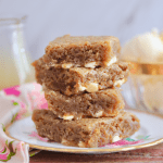 Microwave Butterscotch Blondies (Full Batch)