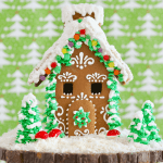 The Ultimate Homemade Gingerbread House Kit