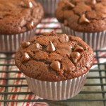 Gemma's Best-Ever Bakery-Style Double Chocolate Chip Muffins